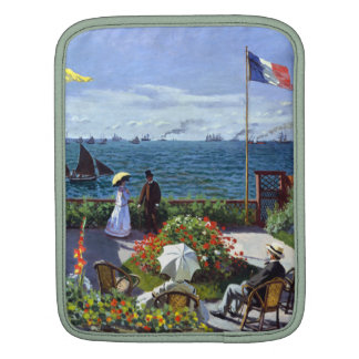 Jardin à Sainte-Adresse by Claude Monet iPad Sleeves