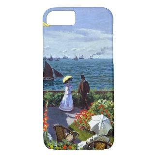 Jardin à Sainte-Adresse by Claude Monet iPhone 8/7 Case