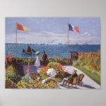 Jardin a Sainte-Adresse by Claude Monet Posters