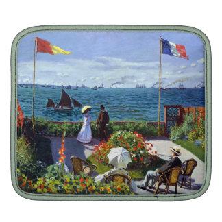 Jardin à Sainte-Adresse by Claude Monet Sleeves For iPads