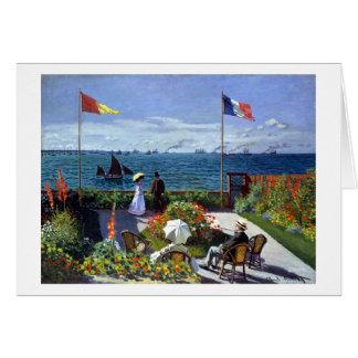 Jardin à Sainte-Adresse r Card