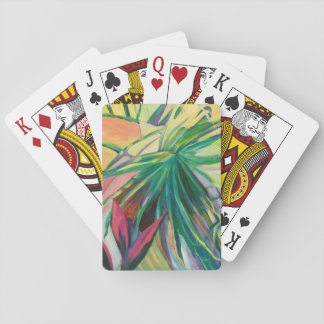 Jardin Abstracto I Playing Cards