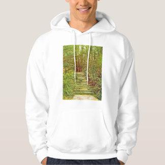 Jardín americano pulóver con capucha