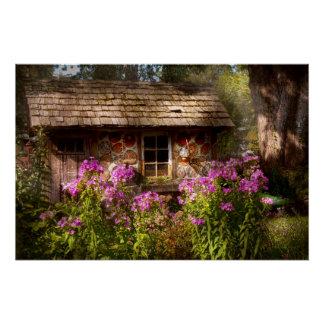 Jardín - Belvidere, NJ - mi pequeña cabaña Perfect Poster