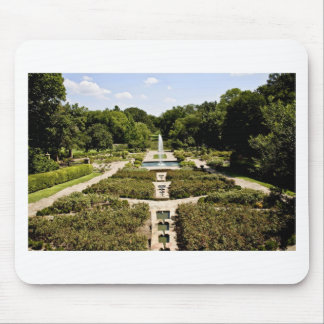 Jardín botánico alfombrilla de raton