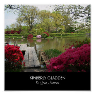 Jardín botánico de Missouri Posters