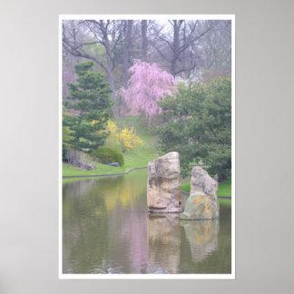 Jardín botánico de St. Louis Póster