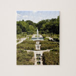 Jardín botánico rompecabeza con fotos