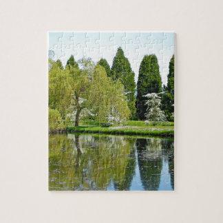 Jardín botánico y charca de la primavera