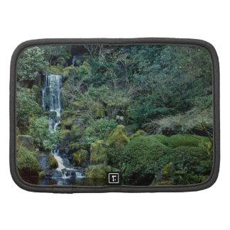Jardín chino del Lan Su cascada Portland Oregon Planificador
