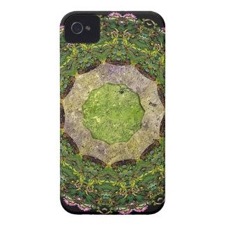 Jardín circular carcasa para iPhone 4 de Case-Mate