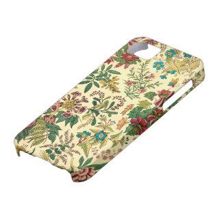 Jardín colorido del vintage floral iPhone 5 carcasas
