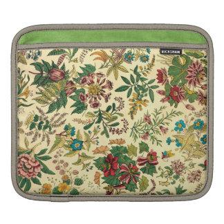 Jardín colorido del vintage floral fundas para iPads