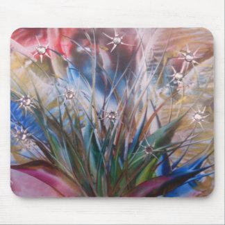 Jardín cristalino mouse pad