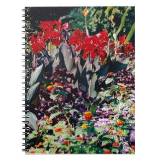 Jardín curativo spiral notebook