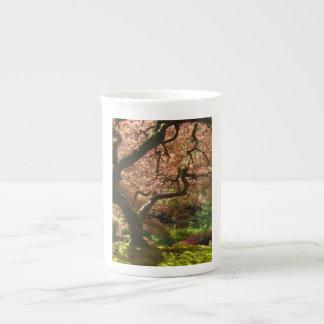 Jardín de Acer Palmatum Portland del arce japonés Taza De Porcelana