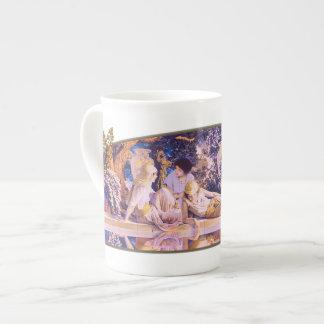 Jardín de Alá - taza de la porcelana de hueso Taza De Porcelana