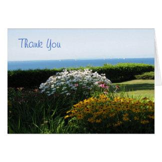 "Jardín de Beautifu - ""agradezca Yoy"" Notecard Tarjeton"