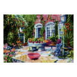 Jardín de Charleston Carolina del Sur de la casa d Impresiones