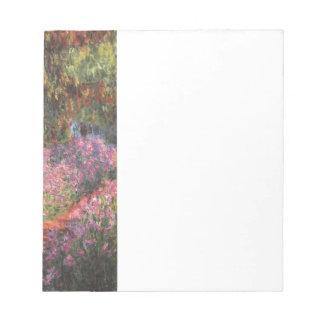 Jardín de Claude Monet //en Giverny Libreta Para Notas