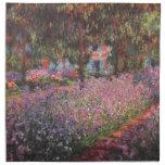 Jardín de Claude Monet //en Giverny Servilletas Imprimidas
