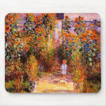 Jardín de Claude Monet-Monet en Vétheuil Alfombrilla De Ratón