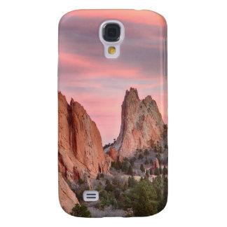Jardín de Colorado de la opinión de la puesta del  Funda Para Galaxy S4