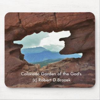 Jardín de Colorado del cojín del ratón de dios Mousepad
