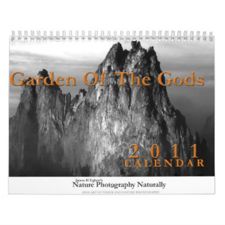 Jardín de dioses calendarios de pared