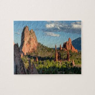 Jardín de dioses puzzle con fotos
