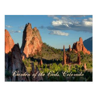 Jardín de dioses tarjetas postales