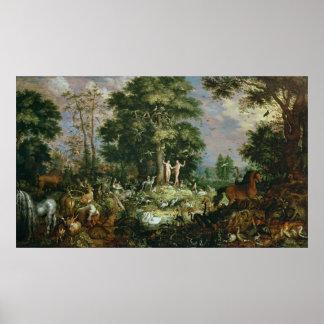 Jardín de Eden Póster
