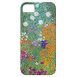 Jardín de flores de Gustavo Klimt iPhone 5 Carcasa