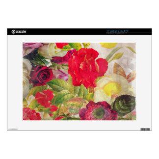 Jardín de flores de la acuarela portátil 38,1cm skins