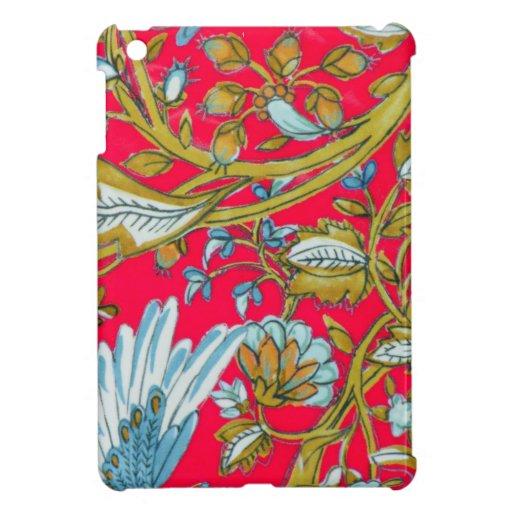 Jardín de flores de la porcelana iPad mini cárcasa