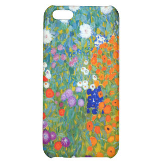 Jardín de flores, Gustavo Klimt