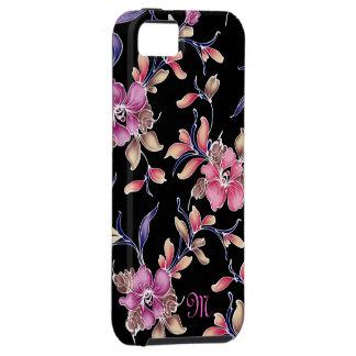 Jardín de flores iPhone 5 funda