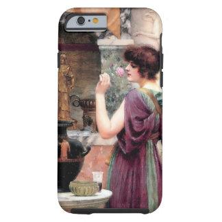 Jardín de Godward de la mujer de Pompeya Funda De iPhone 6 Tough