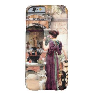 Jardín de Godward de la mujer de Pompeya Funda De iPhone 6 Barely There