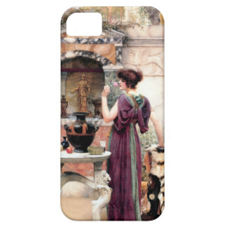 Jardín de Godward de la mujer de Pompeya iPhone 5 Cárcasa