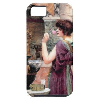 Jardín de Godward de la mujer de Pompeya iPhone 5 Carcasas