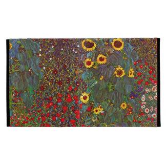Jardín de Gustavo Klimt con el caso del iPad 3 de