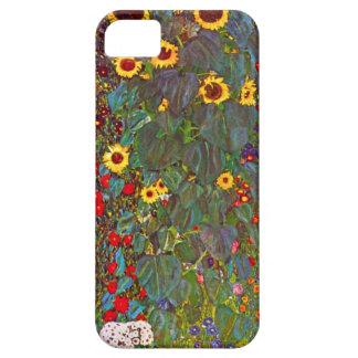 Jardín de Gustavo Klimt con el caso del iPhone 5 iPhone 5 Funda