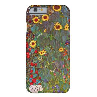 Jardín de Gustavo Klimt con el caso del iPhone 6 Funda De iPhone 6 Barely There
