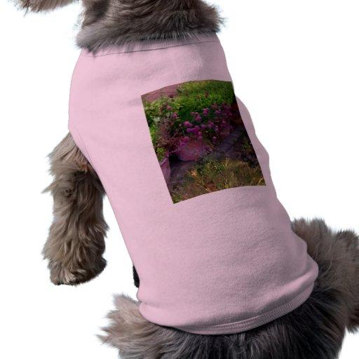 Jardín de hierbas playera sin mangas para perro