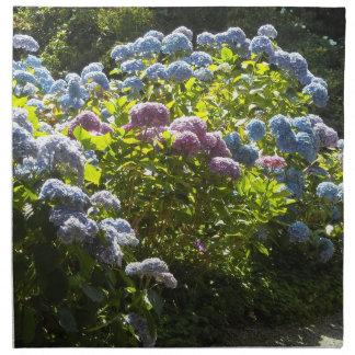 Jardín de Hydrangeas Servilleta