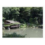 Jardín de Kanazawa Tarjeta Postal