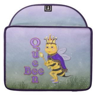 Jardín de la abeja reina fundas para macbooks