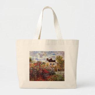 Jardín de la dalia en bella arte de Argenteuil Bolsa De Mano