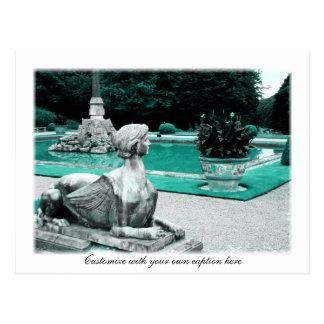 Jardín de la esfinge postal